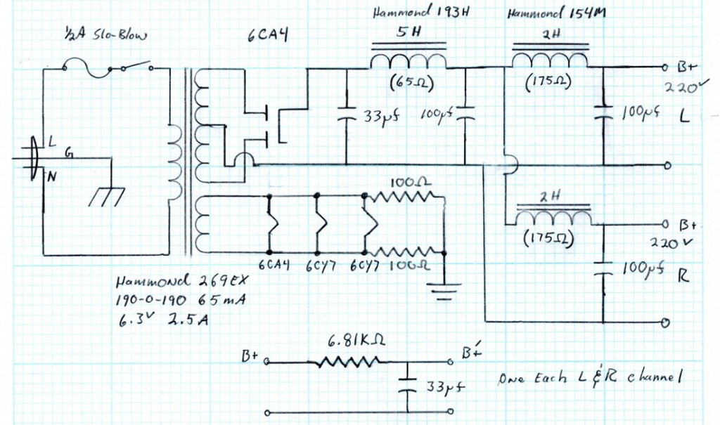 6CY7 Schematic - ps as built