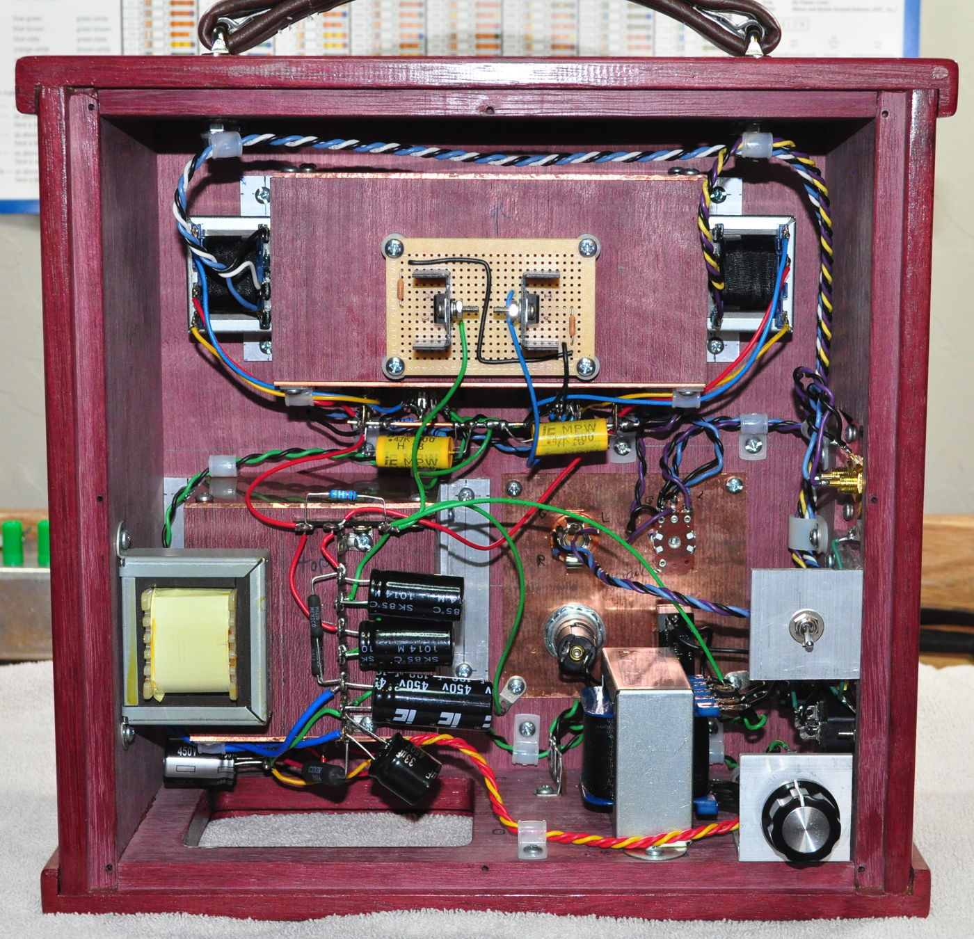 Neat Amp Tube Wiring Electrical Diagrams The Fu29 Pushpull Circuit Amplifiercircuit Diagram 6dj8 Headphone Cascade Tubes Simple Schematic Here Main Power Transformer Are